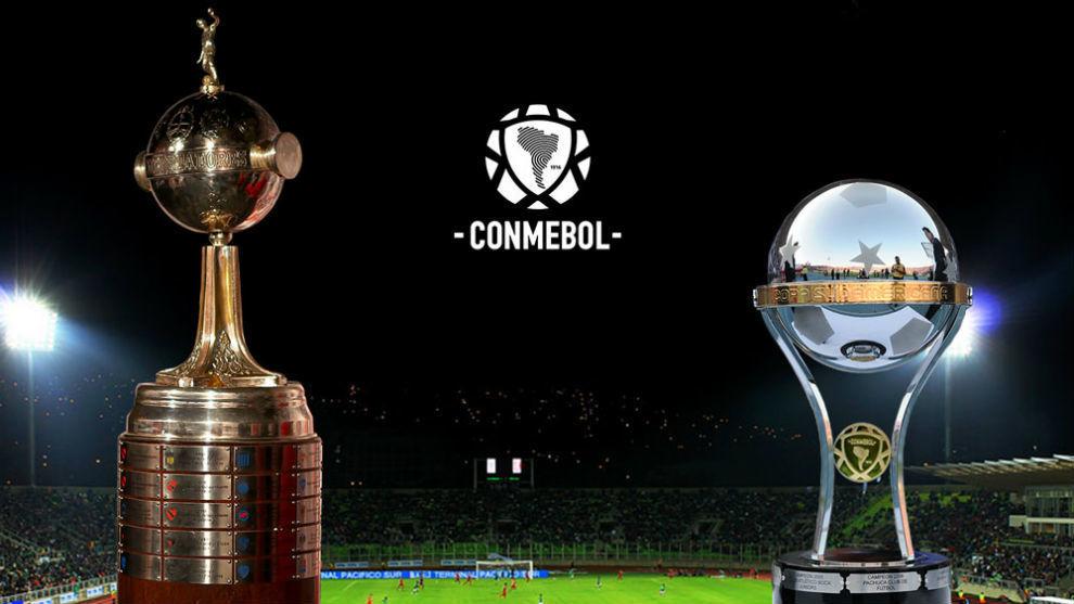 Copa Libertadores y Copa Sudamericana.