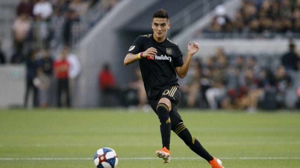 Eduard Atuesta en un encuentro de la MLS.