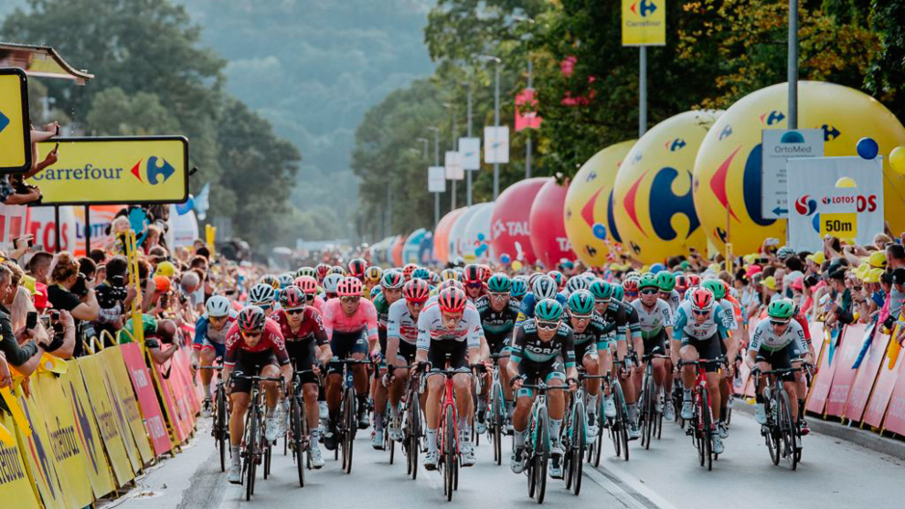 Primera etapa de la Vuelta a Polonia 2020.