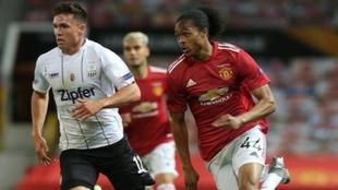 El Manchester United pasa a cuartos de la Europa League.