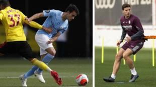 Eric García y Pau Torres, las dos opciones de futuro para la zaga del...