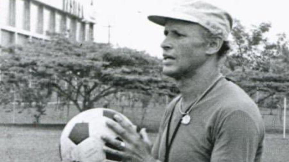 Gabriel Ochoa Uribe, en su época de entrenador.