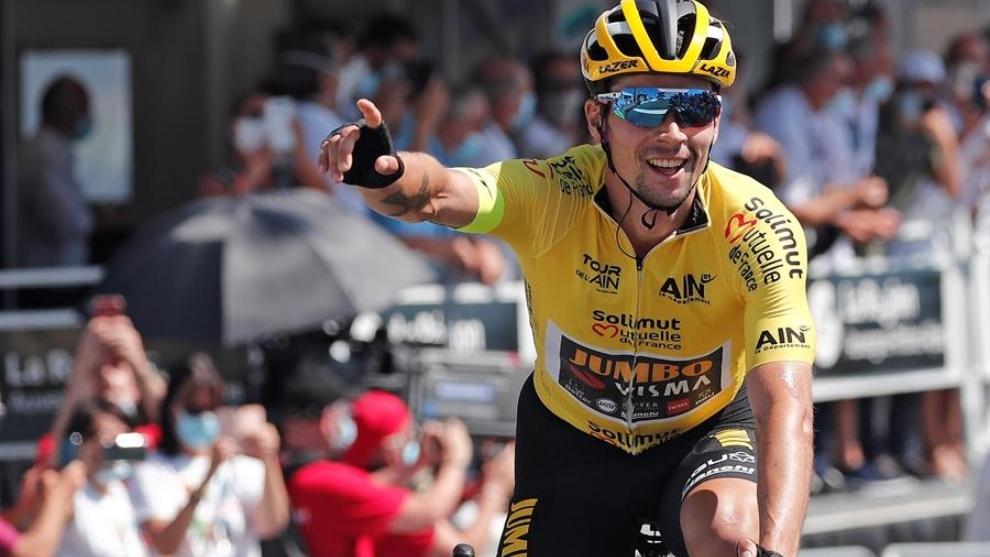 Tour de l'Ain: Primoz Roglic gana en el Grand Colombier