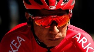 Nairo Quintana se sube al podio en el Tour de l'Ain