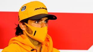 Carlos Sainz, piloto español de la escudería McLaren.