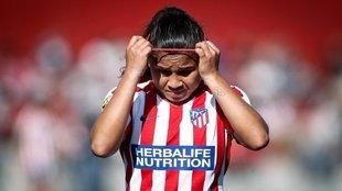 La colombiana Leicy Santos, del Atlético de Madrid, dio positivo para...