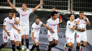El Sevilla se proclamó campeón por sexta vez de la Europa League,...