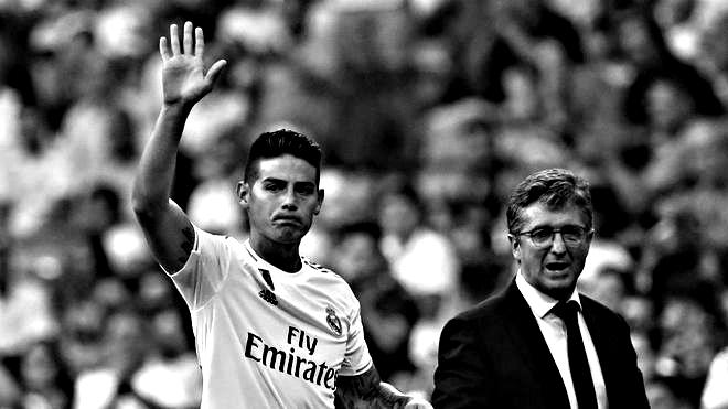 James Rodríguez vinculado con el Everton de Carlos Ancelotti