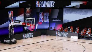 Cancha de la NBA.