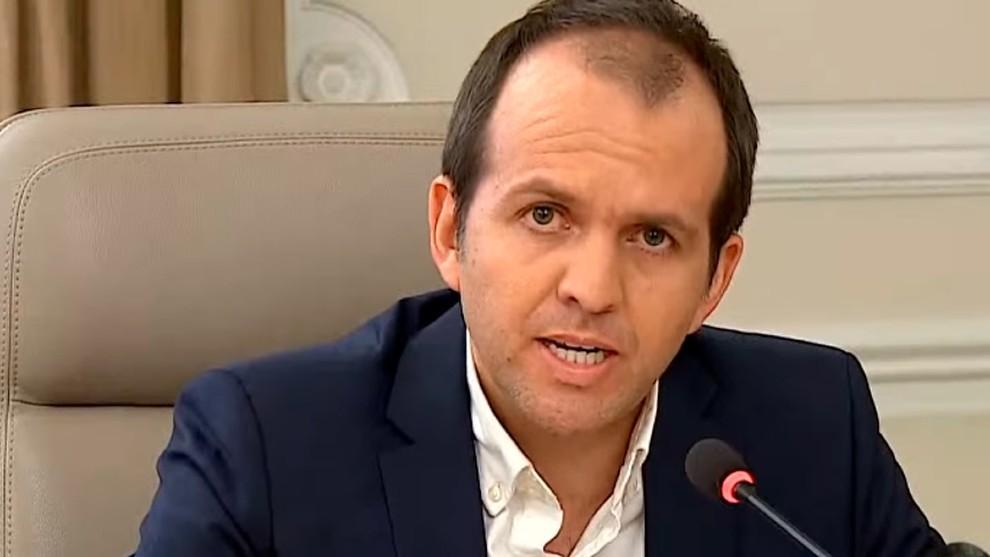 El ministro de Deporte, Ernesto Lucena, habla sobre el regreso del fútbol colombiano
