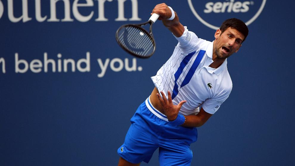 Novak Djokovic, el número uno del mundo.