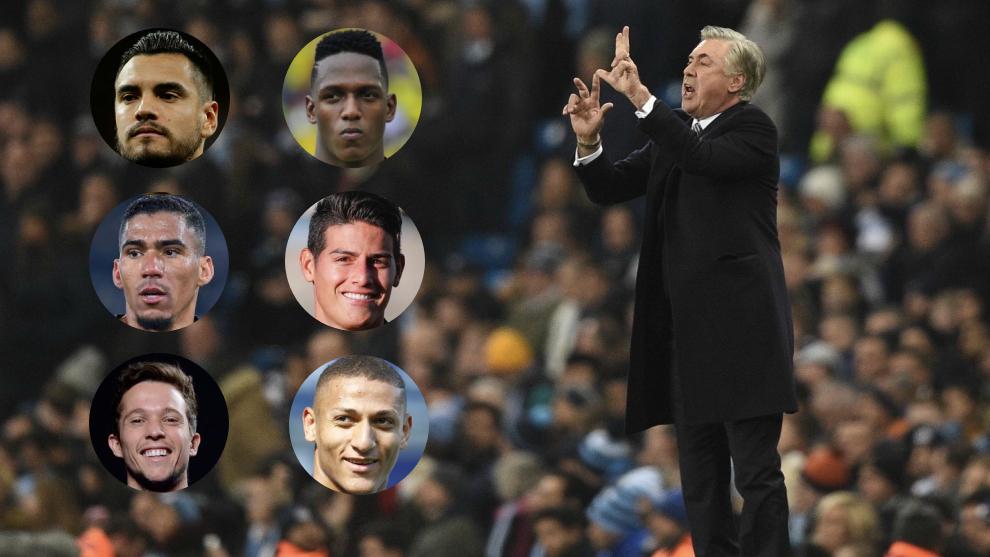 Diseño de Ancelotti y los sudamericanos que tendría en el Everton.