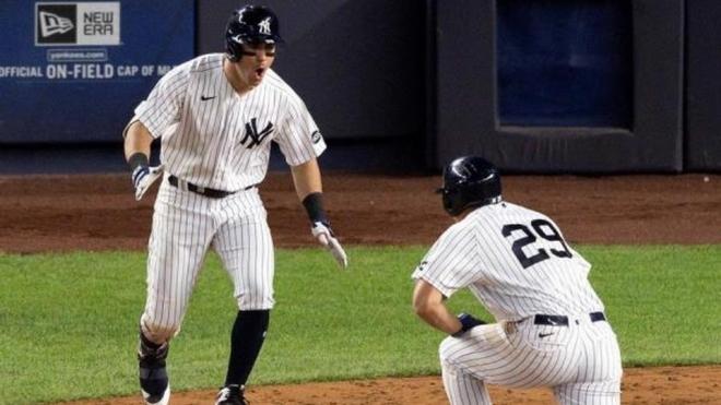 Tampa Bay Rays en New York Yankees