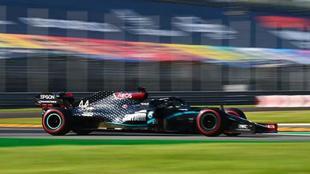 Hamilton , el más rápido en Monza