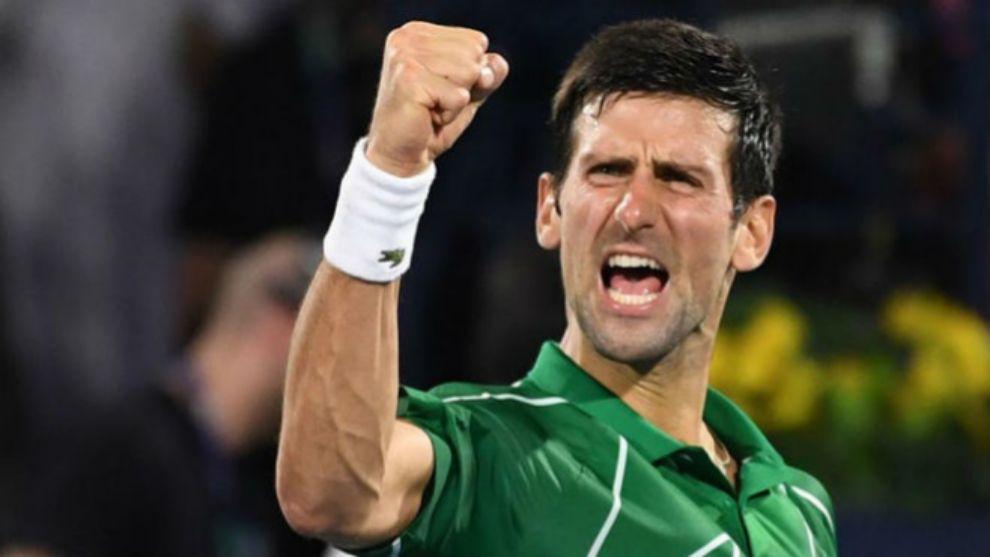 Novak Djokovic, el número uno del mundo en la ATP.