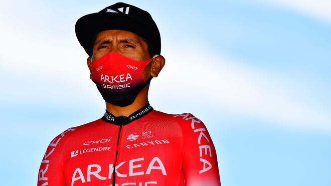 Nairo Quintana, ciclista colombiano del Arkéa-Samsic.