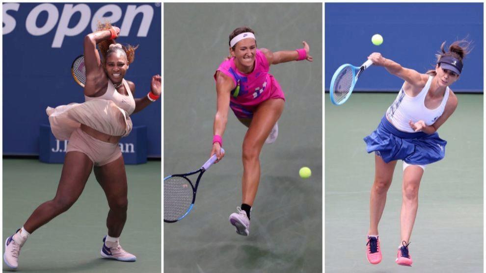 Serena, Azarenka y Pinkorova, las madres que buscan la corona en Nueva...