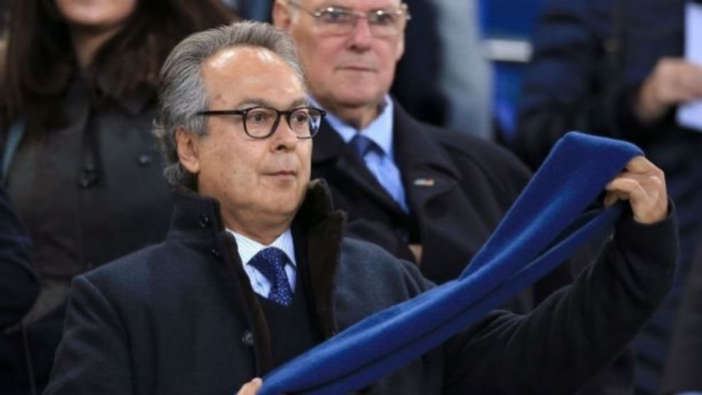 Farhad Moshiri, el máximo accionista del Everton.
