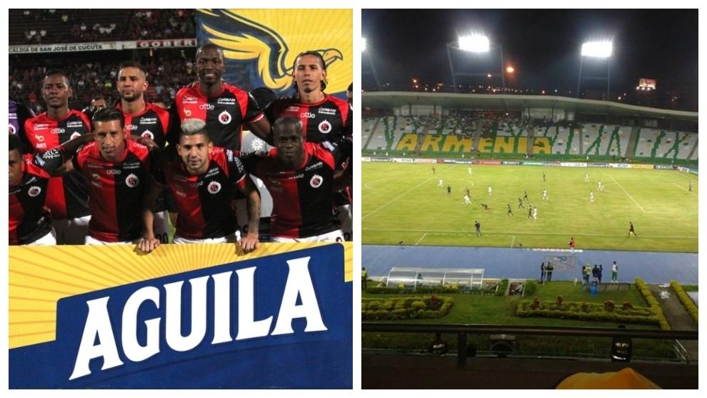 El Cúcuta Deportivo se trasladará al Eje Cafetero en lo que queda de...