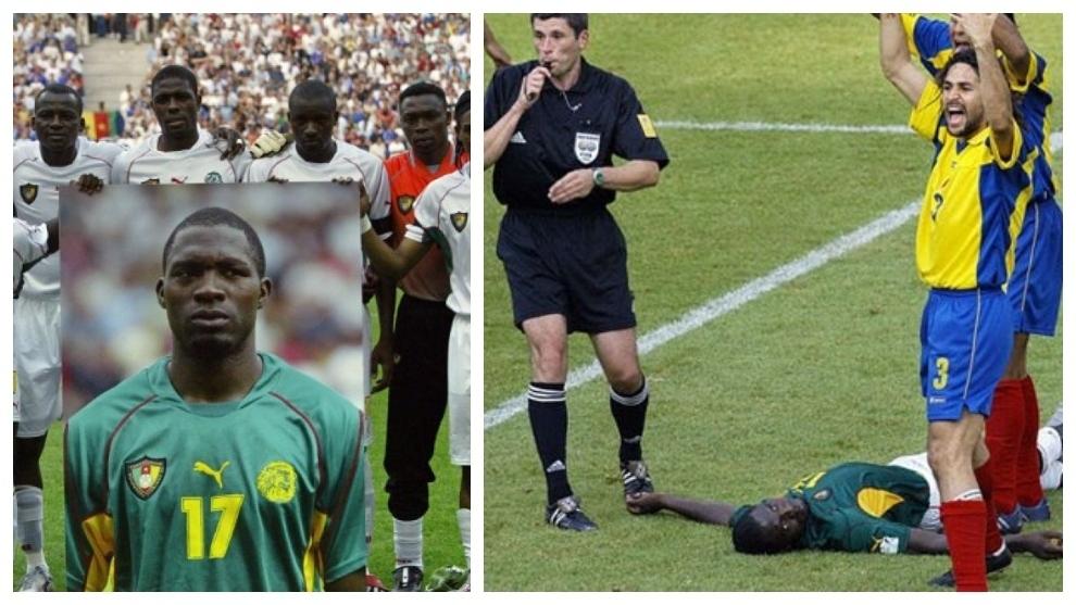 El momento del drama en el estadio francés.