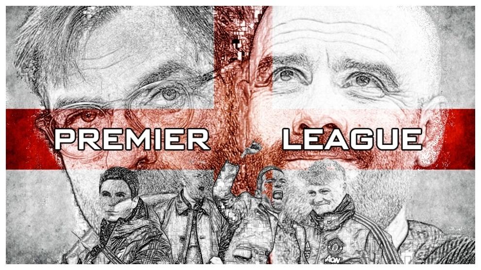 Diseño de la Premier League.
