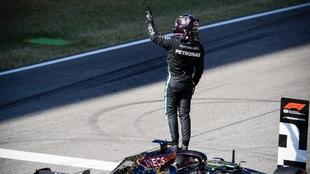 Hamilton se lleva la pole en Mugello