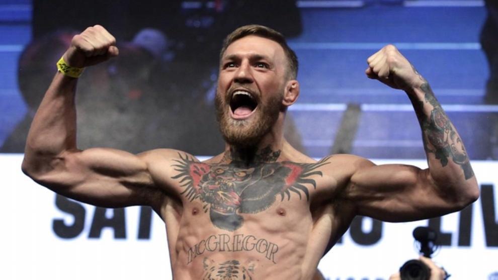 """McGregor, arrestado en Córcega por """"exhibición sexual"""""""