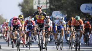 Merlier se llevó la sexta etapa en la Tirreno Adriático.