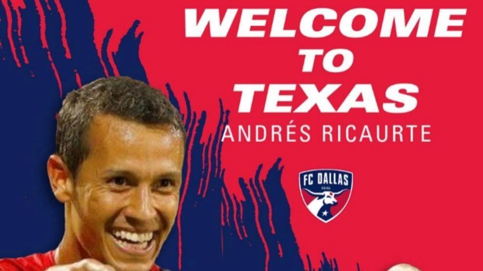 Andrés Ricaurte, la nueva estrella del Dallas.