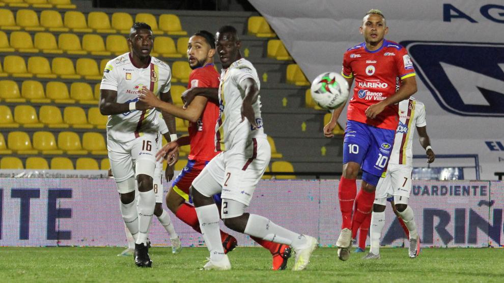 Deportes Tolima vence a Deportivo Pasto en partido por la fecha 2 como...