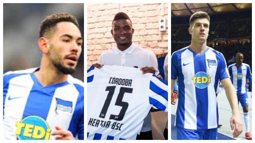 Cunha, Córdoba y Piatek competirán por ser el delantero del Hertha.
