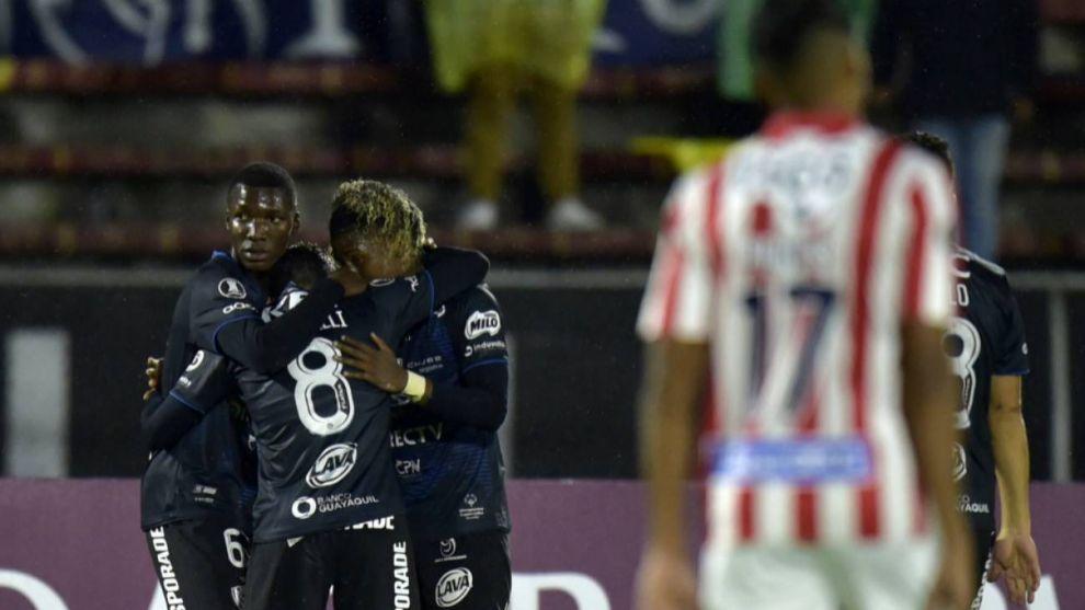 Independiente del Valle 3 Junior 0, la imagen que el 'Tiburón quiere...