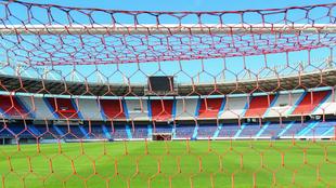 El estadio Roberto Meléndez, casa de la Selección Colombia.