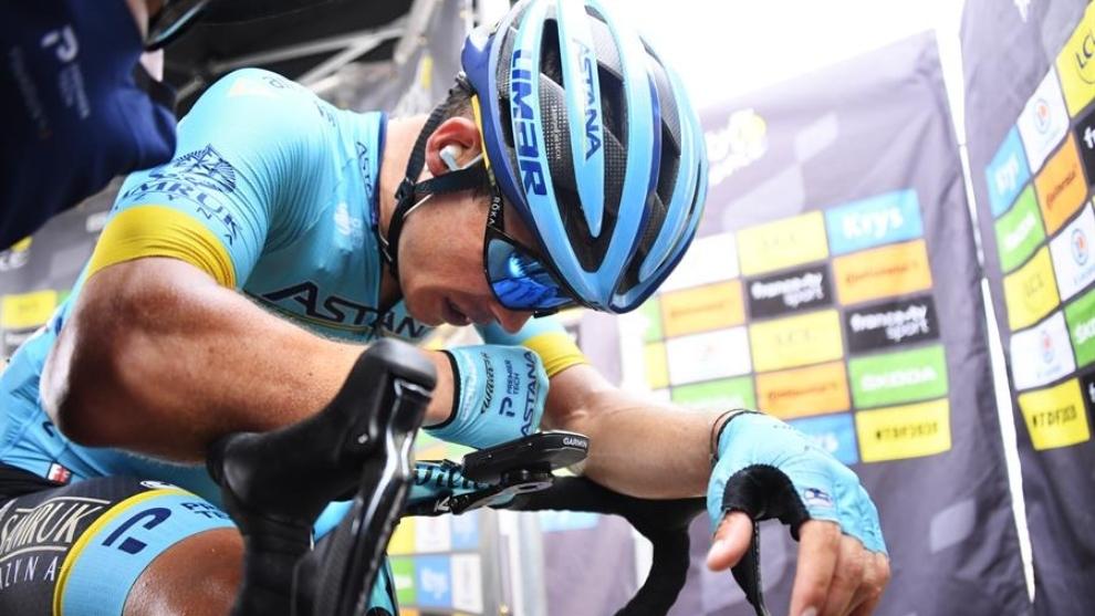 Tour de Francia: 'Supermán' López tras su victoria en la etapa 17