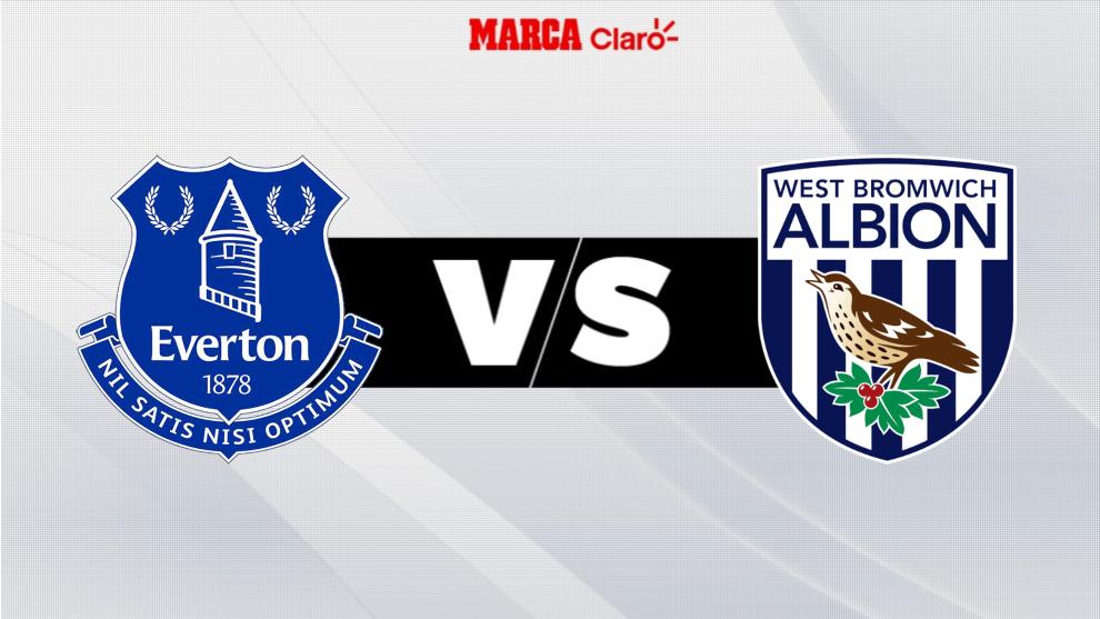 Everton vs West Bromwich Albion: horario y dónde ver el partido de la...