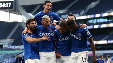 André Gomes, James, Richarlison, Calvert, Yerry Mina y Michael Keane...