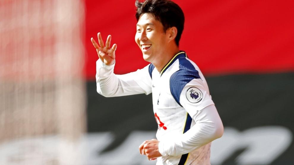 El coreano fue la figura del partido.