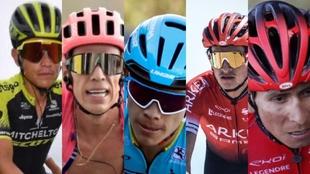 Tour de Francia: colombianos que participaron en la carrera
