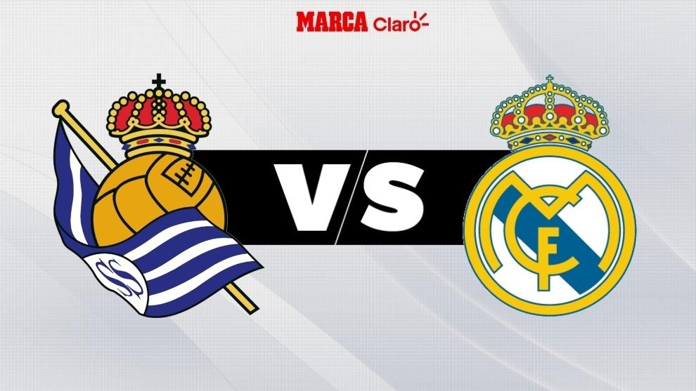 Real Sociedad vs Real Madrid en vivo el partido de hoy