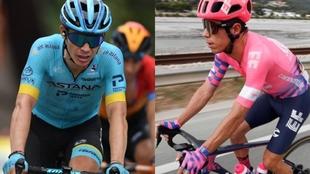 Tour de Francia: 'Supermán' López y Rigoberto Urán