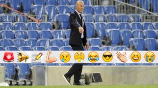 Zidendine Zidane, en Anoeta.
