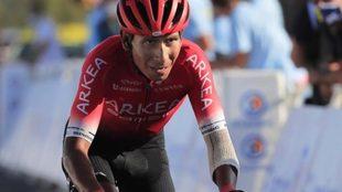 Nairo Quintana, durante el pasado Tour de Francia