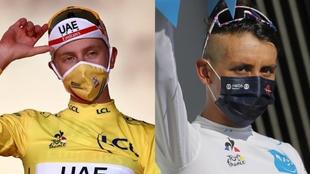 Tour de Francia: Tadej Pogacar y Egan Bernal