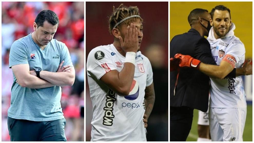 Las tres caras de los líderes de cada equipo.