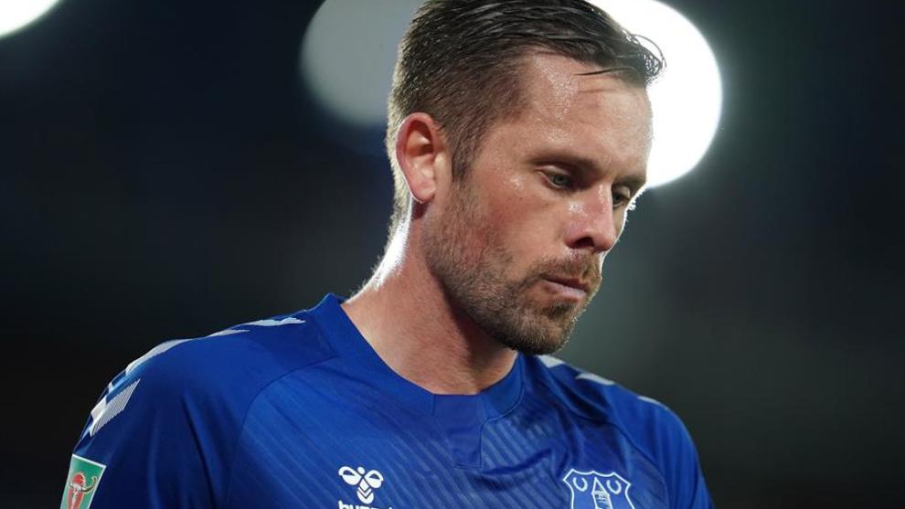 Gylfi Sigurdsson, en un partido con el Everton.