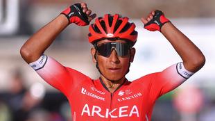 Nairo Quintana, ciclista del Arkéa-Samsic.