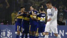 En el partido de ida, Boca aplastó al DIM.