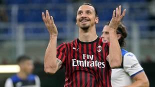 AC Milán informa que Ibrahimovic dio positivo por Covid-19