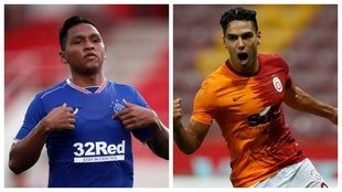 Rangers de Morelos y Galatasaray de Falco jugarán en la Europa League