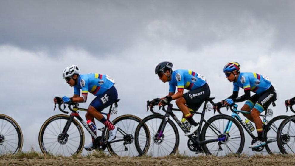 Selección Andina de Colombia en el Mundial de Ciclismo de Ruta 2020